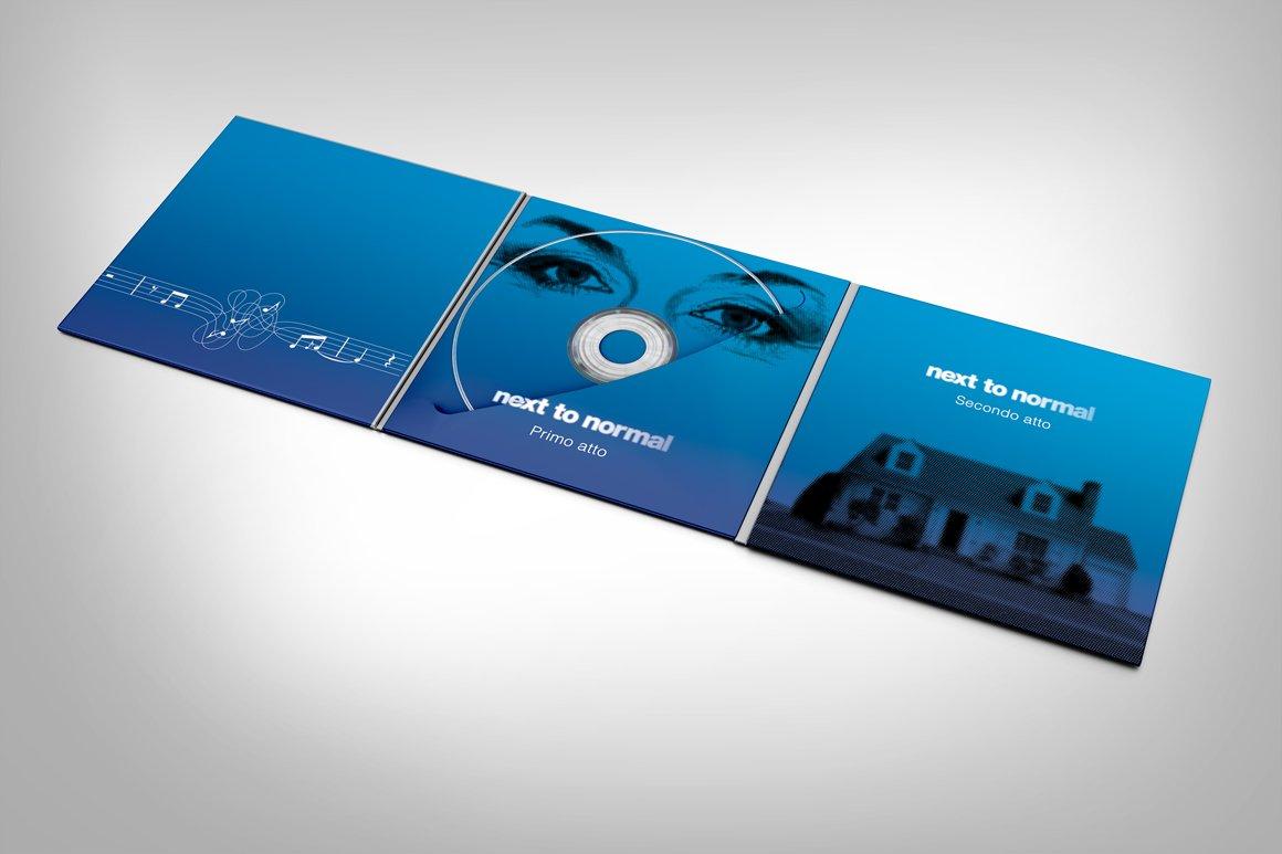 Il Digipack per il CD di Next To Normal – Italia realizzato da Gaetano Cessati