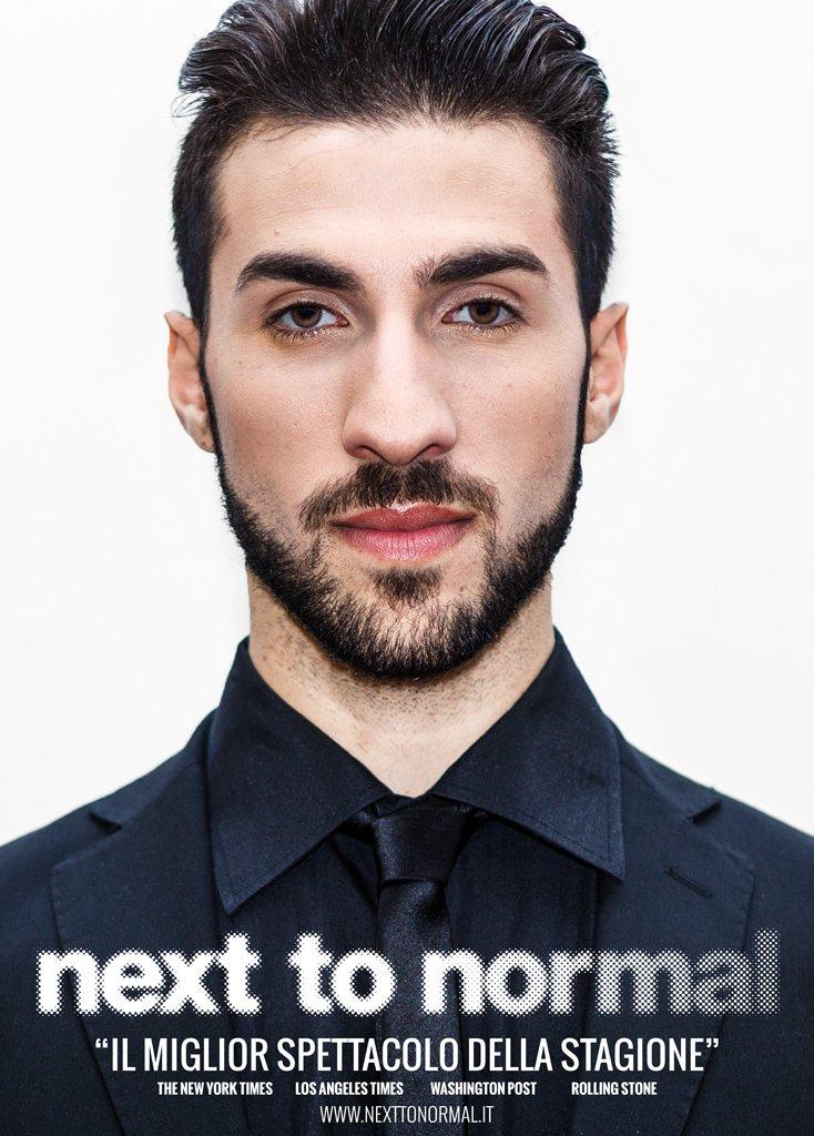Next To Normal – Italia. Poster del Dr. Madden interpretato da Brian Boccuni.