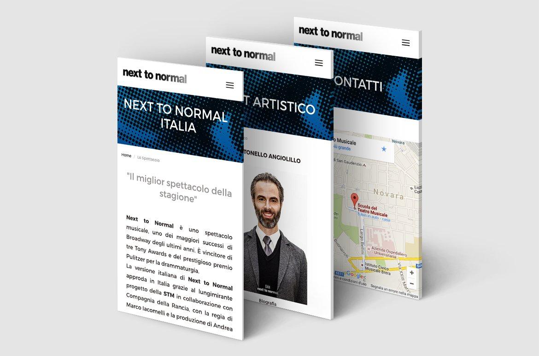 Next To Normal – Italia. Presentazione del sito web nexttonormal.it