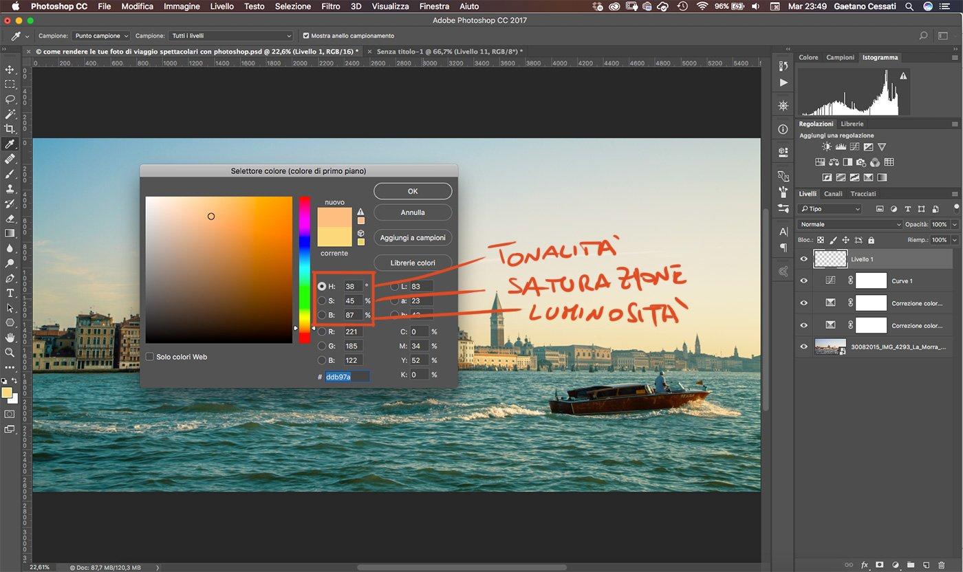 Come rendere le tue foto di viaggio spettacolari con photoshop 12