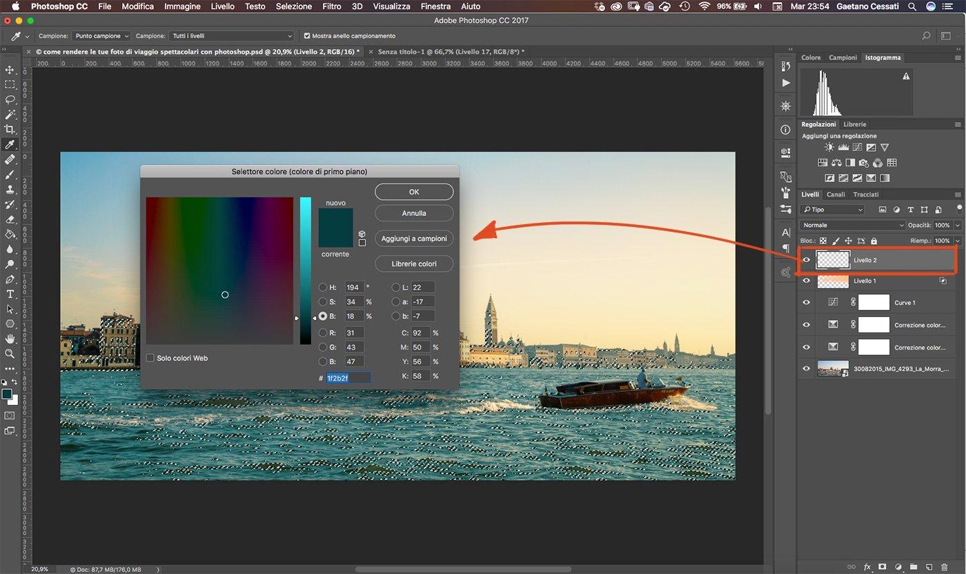 Come rendere le tue foto di viaggio spettacolari con photoshop 17