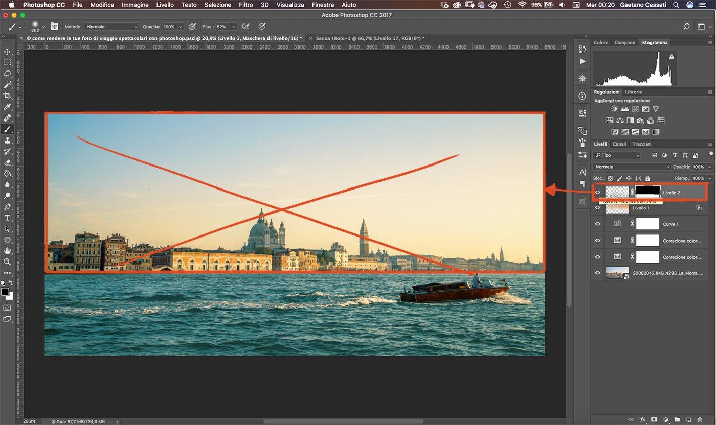Come rendere le tue foto di viaggio spettacolari con photoshop 18