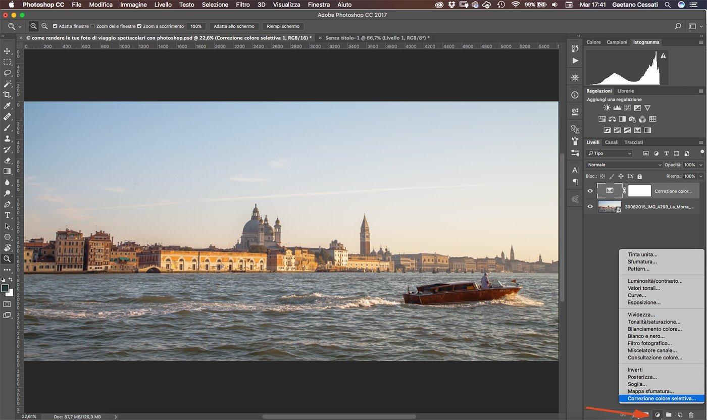 Come rendere le tue foto di viaggio spettacolari con photoshop 2