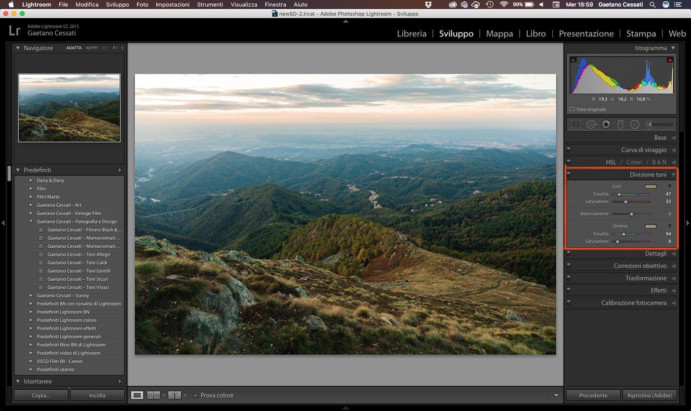 13 - come sviluppare una foto HDR con Lightroom