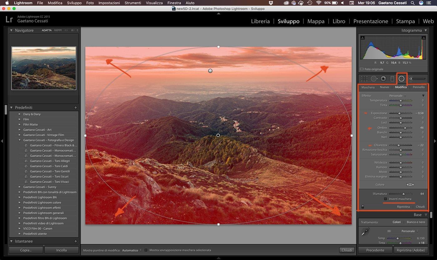 17 - come sviluppare una foto HDR con Lightroom