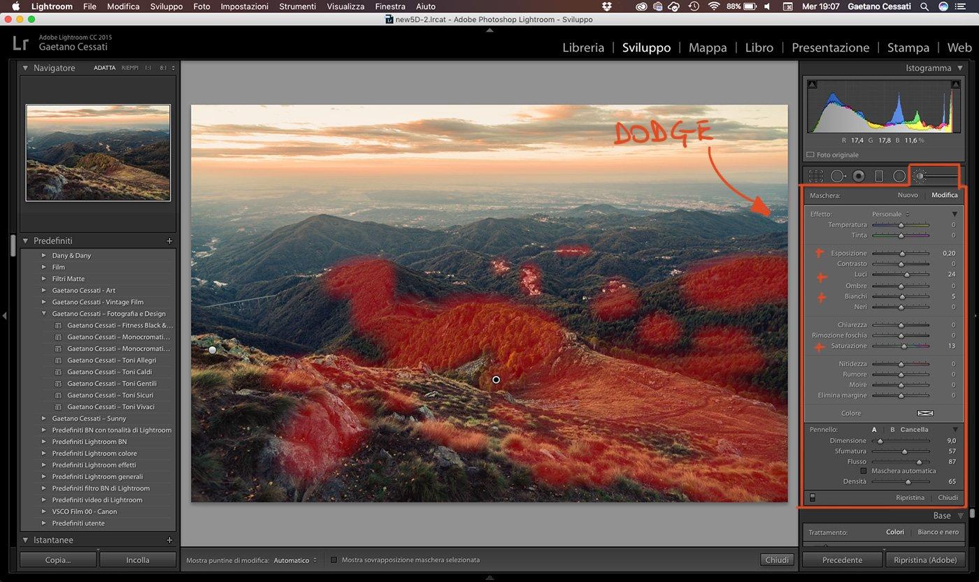 18 - come sviluppare una foto HDR con Lightroom