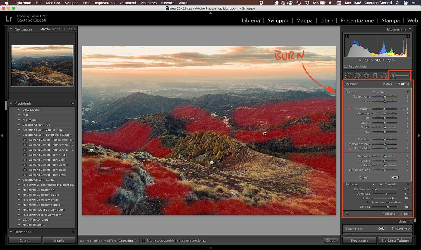 19 - come sviluppare una foto HDR con Lightroom
